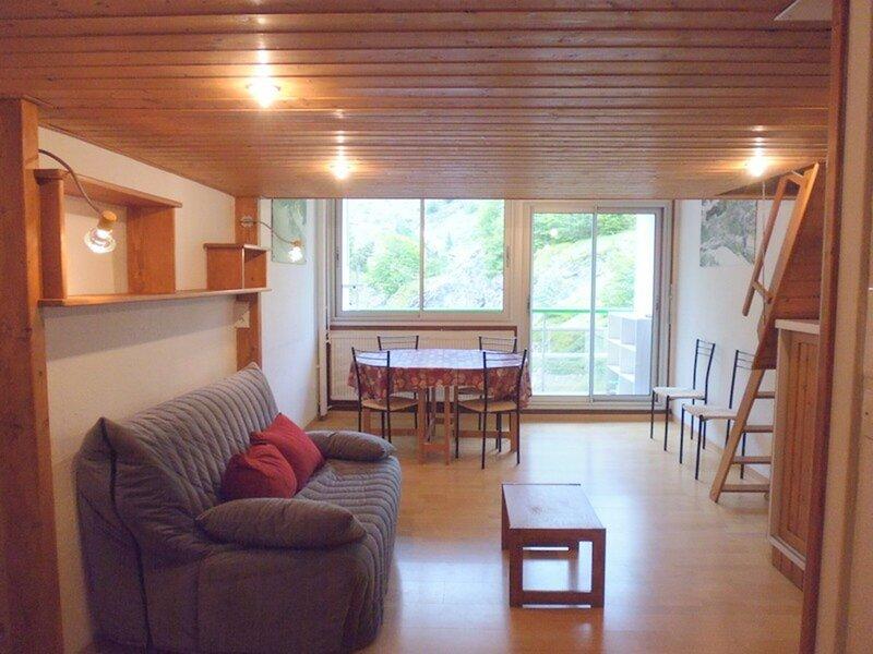 Studio  4  personnes, résidence Pene Medaà., location de vacances à Gourette
