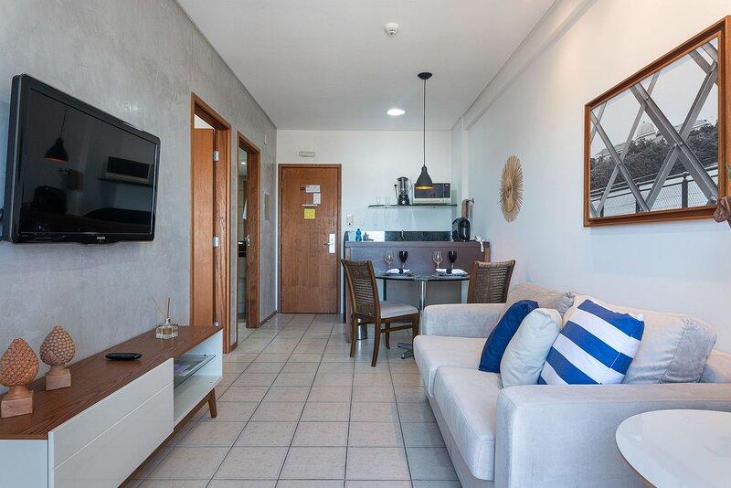OTH1703 Excelente flat na Ilha do Leite até 2 pessoas, holiday rental in Olinda