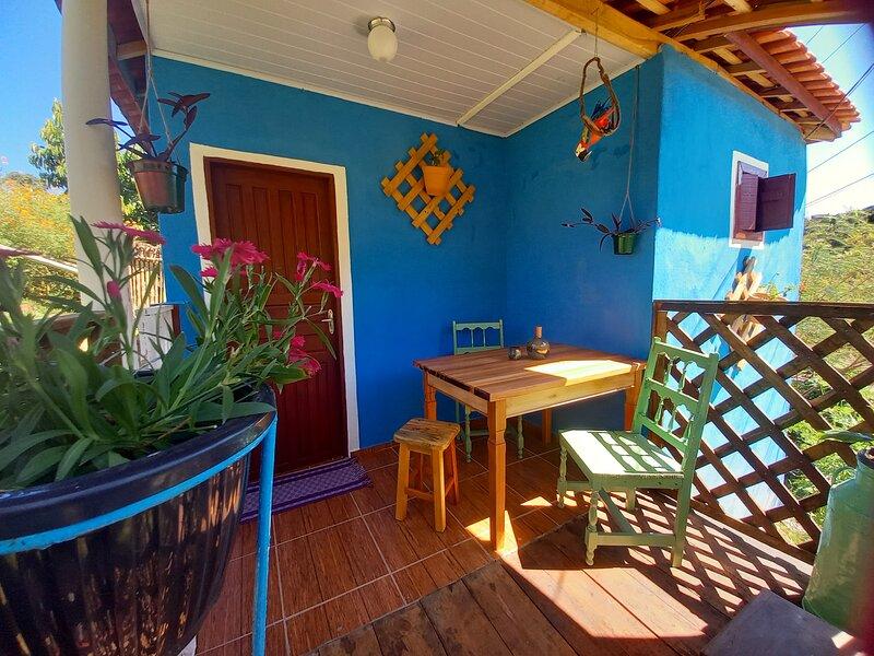 Chalés individuais., location de vacances à Cunha