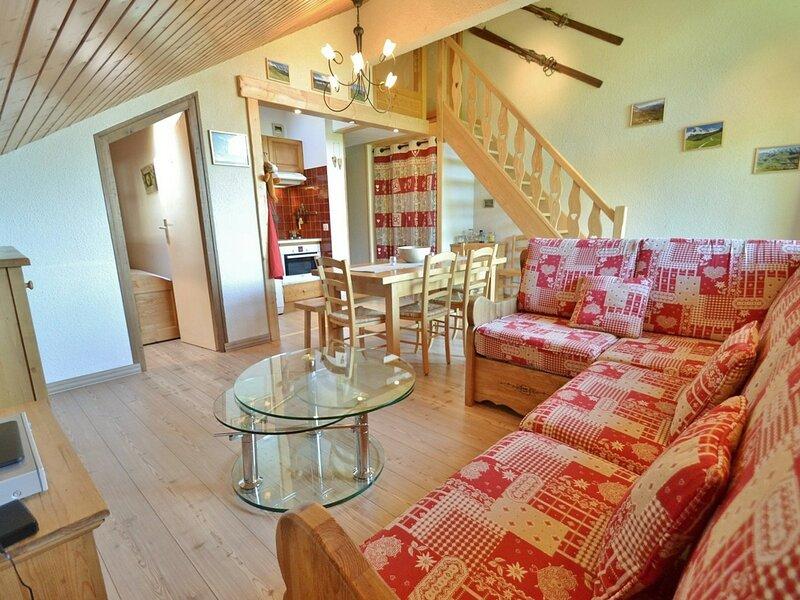 Appartement 5 personnes, 3 chambres, parking, proche commerce !, location de vacances à Le Petit-Bornand-les-Glières