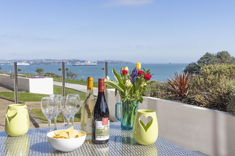 Lapwing 1, The Cove - Luxury 2 bedroom apartment set above a beautiful cove in B, location de vacances à Galmpton