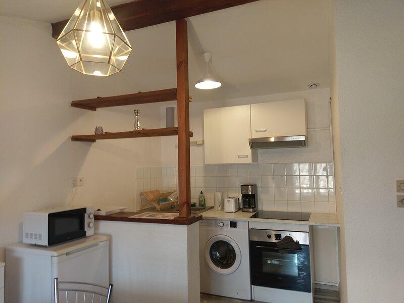 Appartement 2 pièces à Puivert, vacation rental in Puivert