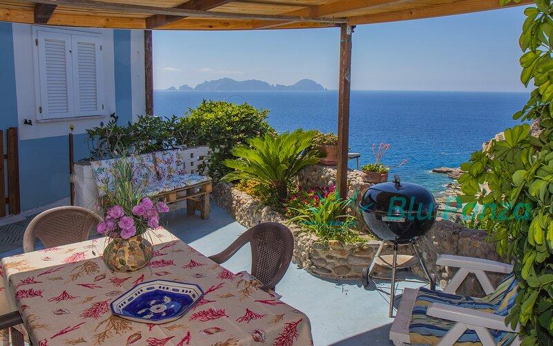 BluPonza - 808349 - Appartamento Fragolino, location de vacances à Île de Ponza