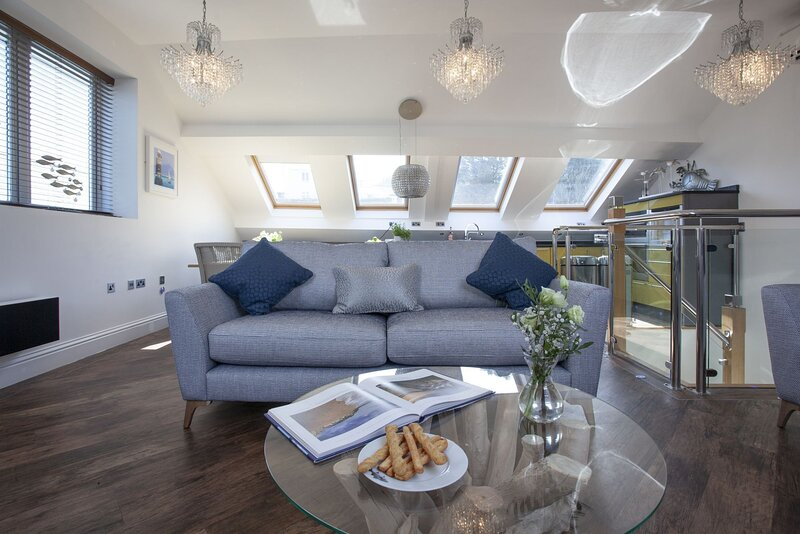 The Penthouse, 15 At The Beach, Torcross, vacation rental in Slapton
