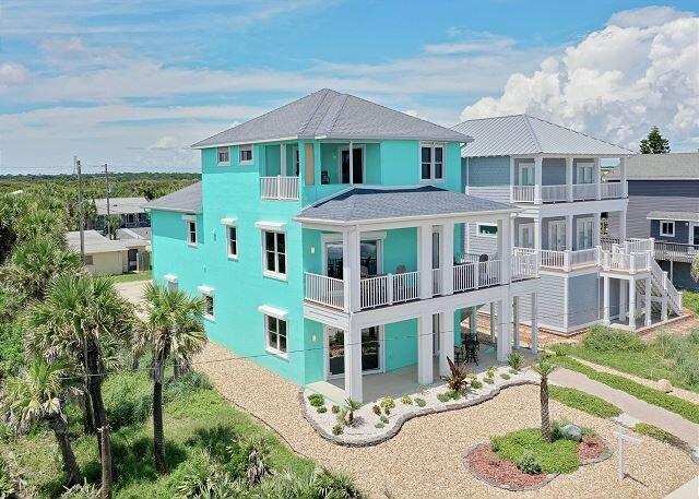 Limin' House oceanfront home in Flagler Beach! New to the rental market!, alquiler de vacaciones en Flagler Beach
