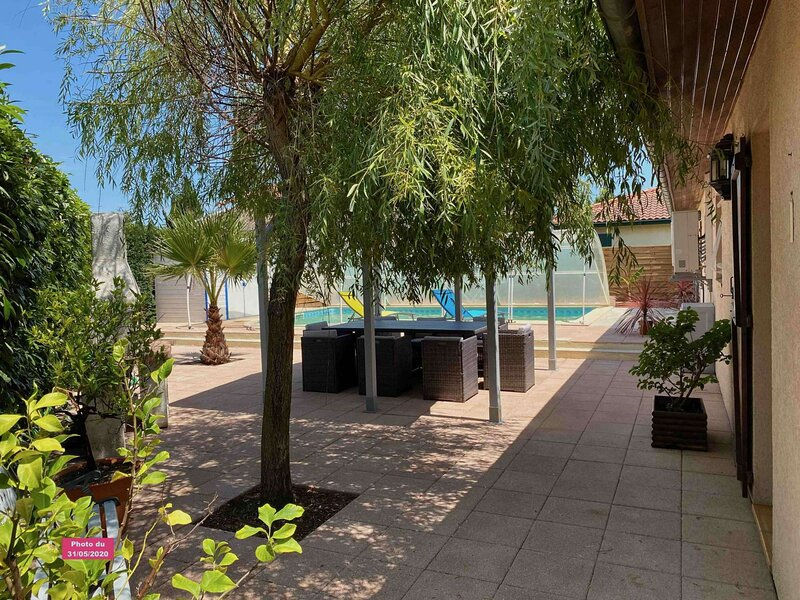 Maison 8 pers. Benesse Maremme - Piscine, holiday rental in Angresse