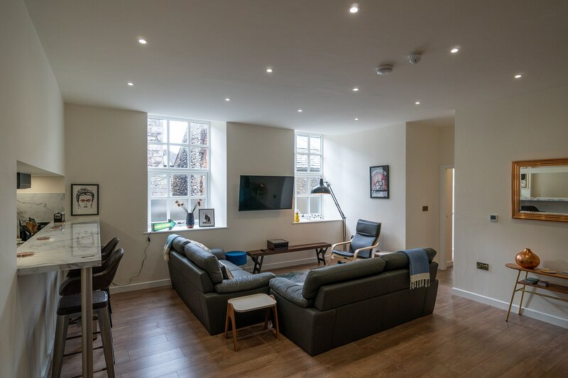 The Old Church - Tanners Yard - Two separate 2-bedroom apartments, linked by a p, holiday rental in New Hutton
