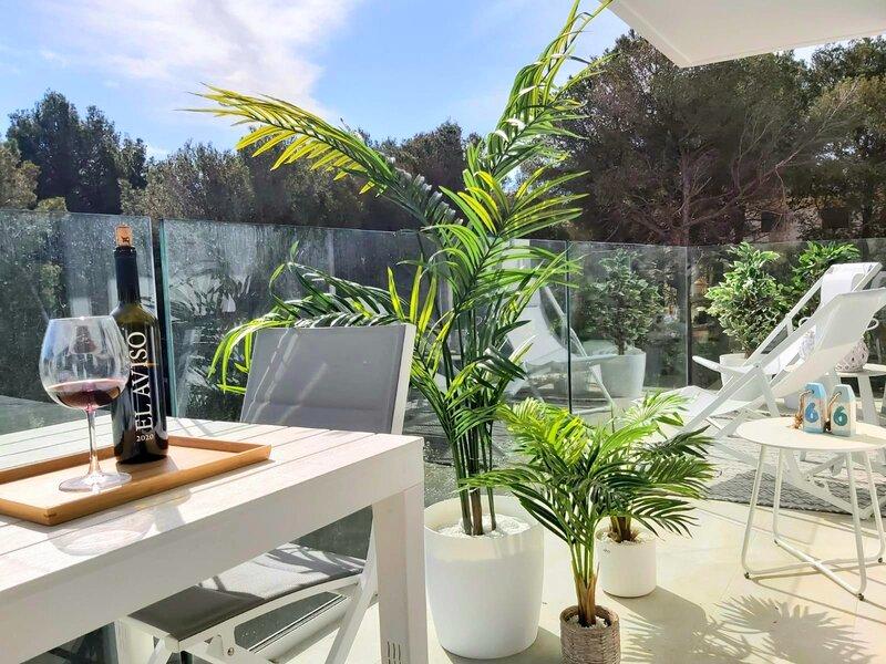 Brand New; Cala Doy, at 150 meters from Canyamel  Beach. Pool, Garden& Solarium, vacation rental in Costa De Los Pinos