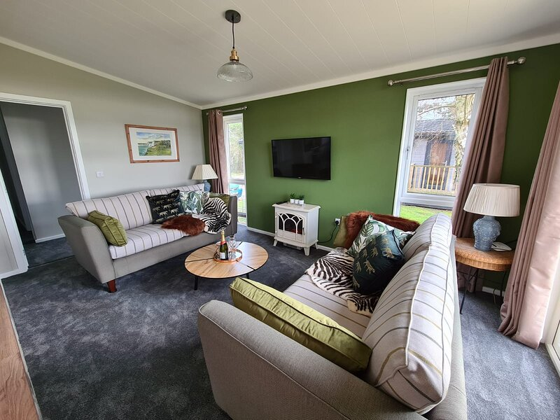 Puddock Farm Lodges New Puddledock, holiday rental in Stone in Oxney