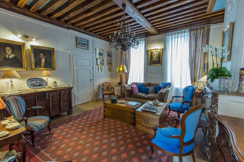 This 10th Century home sits in an exceptional setting in the center of Orleans, vacation rental in Patay