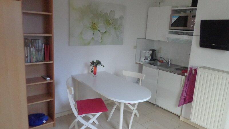 Moderne 2-persoonstudio met eigen ingang in de Limburgse heuvels, holiday rental in Slenaken