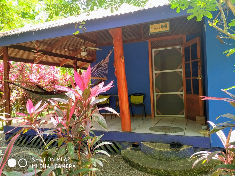 Casa caribeña para cuatro huéspedes, casa vacanza a Cahuita