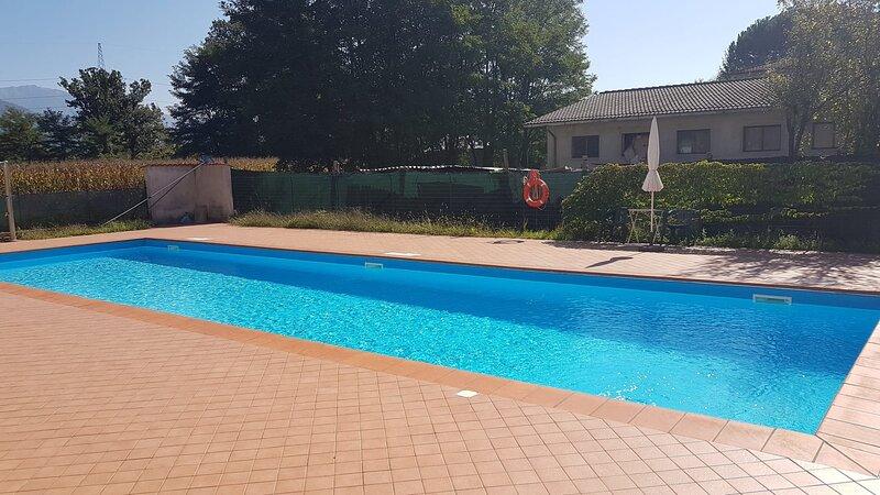 Appartamento in Toscana con Piscina e giardino, casa vacanza a Groppoli di Mulazzo