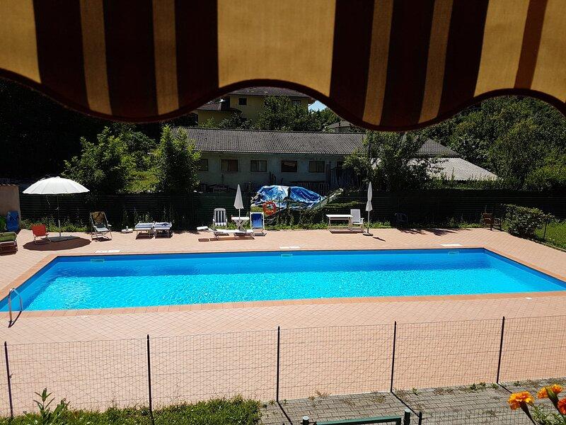 Appartamento con Piscina in Lunigiana, casa vacanza a Groppoli di Mulazzo