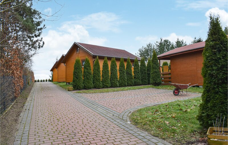 Awesome home in Jaroslawiec with 1 Bedrooms (PPO775), vacation rental in Lacko