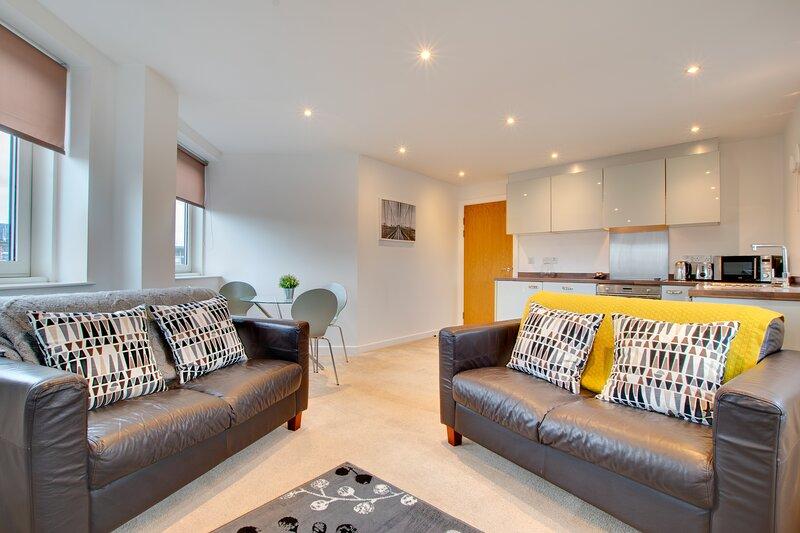 Week2Week 2 bed Newcastle city centre apartment, aluguéis de temporada em Heddon-on-the-Wall