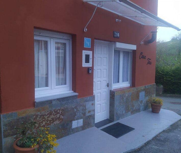 Casa TINO, alquiler vacacional en Pravia