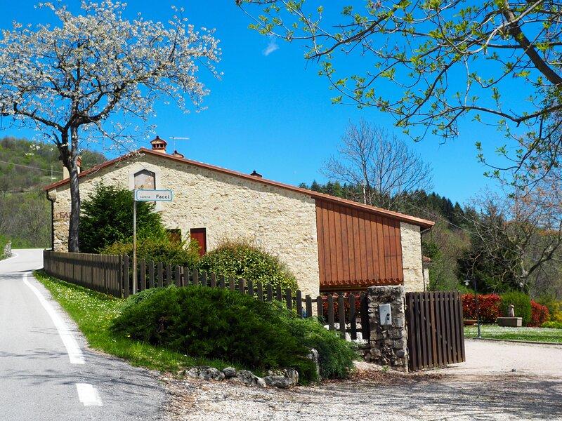 Villa Contrà Facci - Strada delle 52 gallerie (Road of 52 tunnels Pasubio), holiday rental in Malo