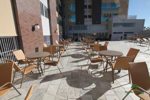 Piazza diroma acesso ao Acqua Park e Splash, location de vacances à Caldas Novas