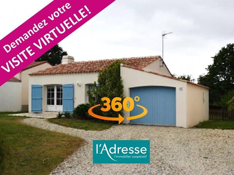 MAISON DE VACANCES AU CALME ET A 700M DE LA MER, holiday rental in La Bernerie-en-Retz