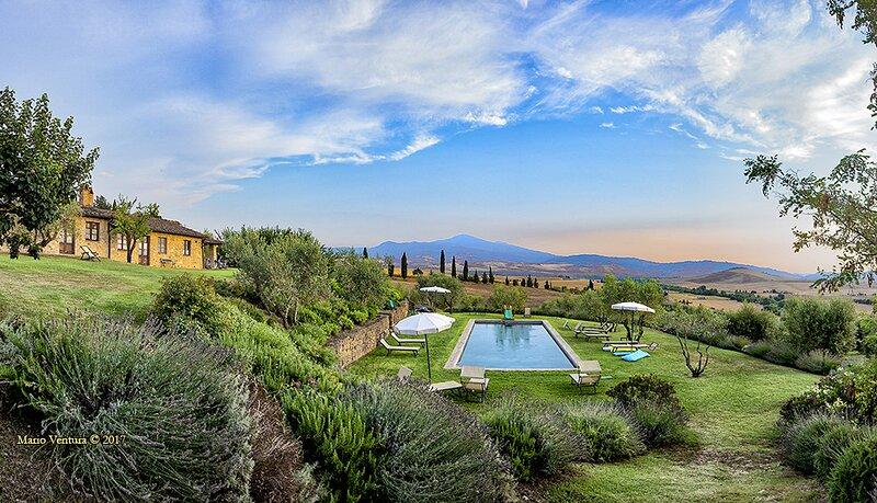 Villa Silene, vakantiewoning in Monticchiello