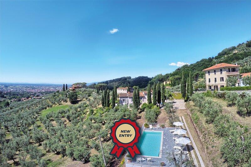 Villa Cielo Blu, holiday rental in Nievole