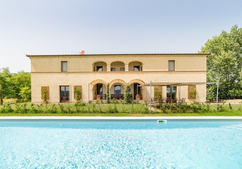 Villa Fragranza, Ferienwohnung in Buonconvento