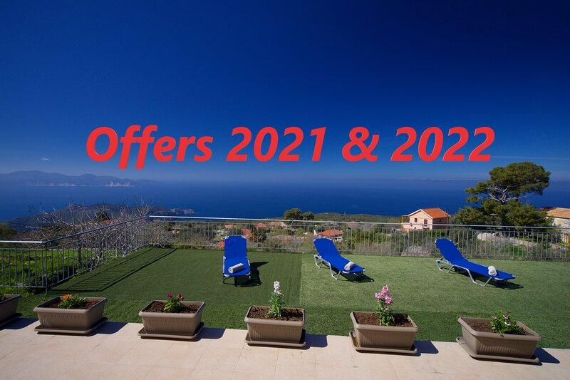 Assos Panoramic Sea View Villa, vacation rental in Assos