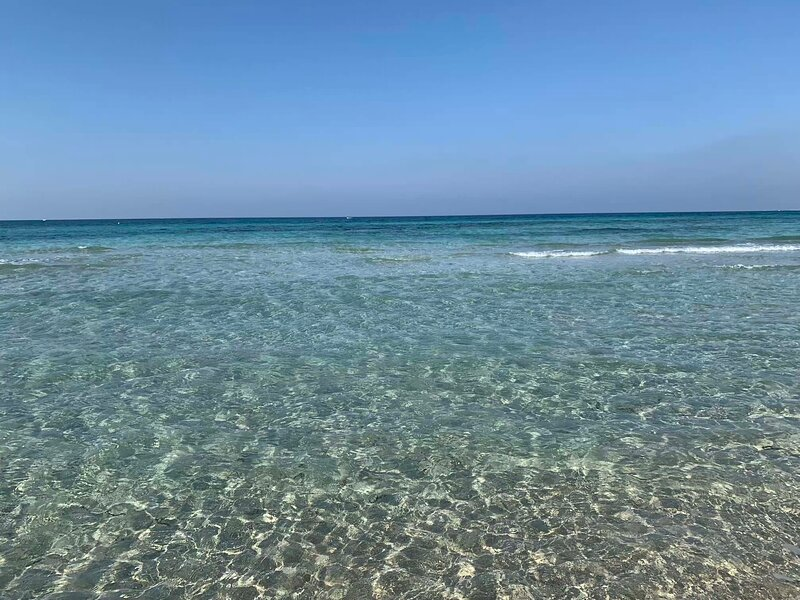 Gallipoli Spiaggia di Rivabella, casa vacanza a Padula Bianca