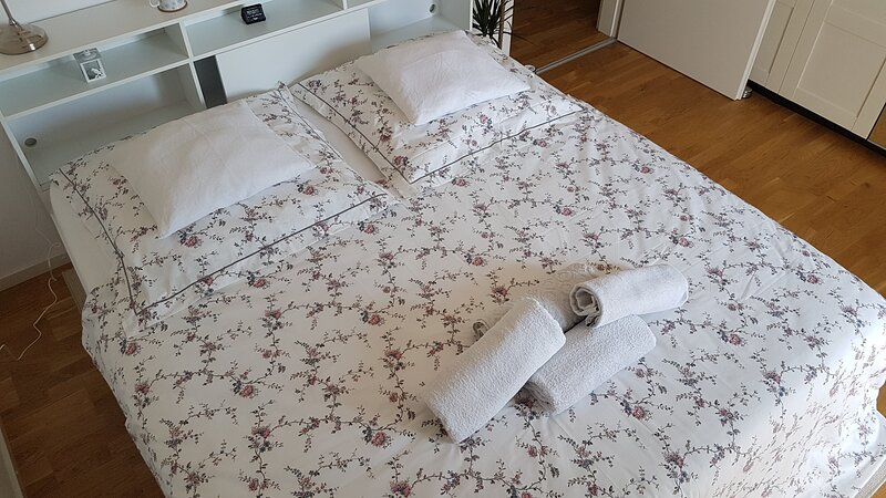 Cosy 2-room apartment in fairy-tale city!, Ferienwohnung in Sankt Leon-Rot