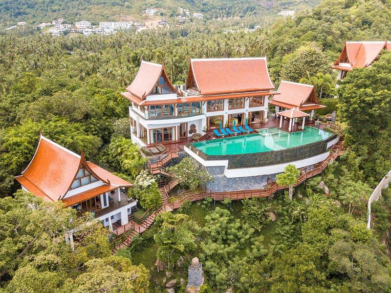 Villa Riva, 7BR, Laem Noi, vakantiewoning in Ang Thong