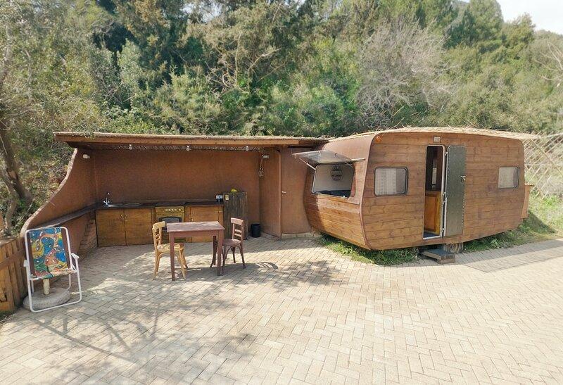 Caravan in Mirtiotissa for let., casa vacanza a Kokkini