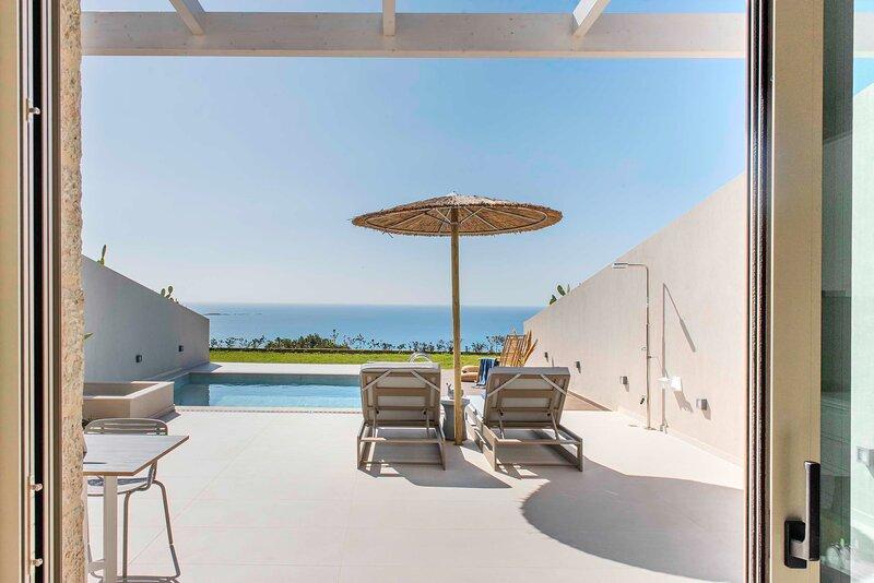 Villa Vista | Stunning seaview & free heated pool, holiday rental in Falassarna
