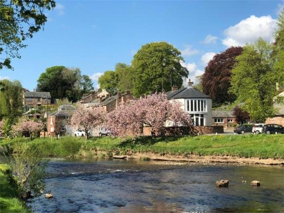 Riverside View next to River Eden In Appleby, holiday rental in Bolton