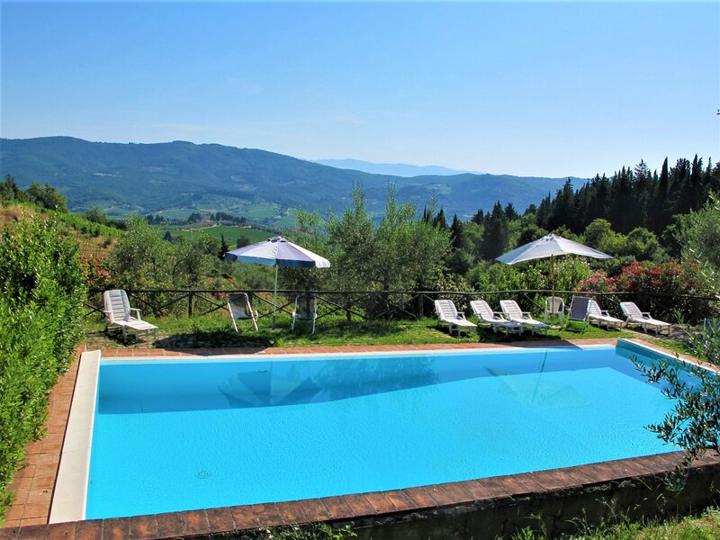 San Rocco (GRE170), holiday rental in Montefioralle