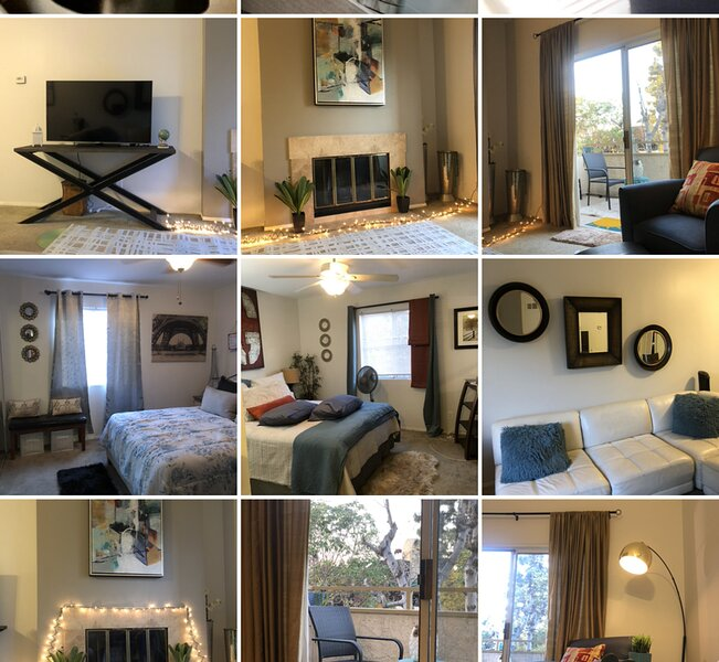 CORPORATE STYLE, 2 BED 2 BATH, TOP LEVEL, DT CONDO, aluguéis de temporada em Roland