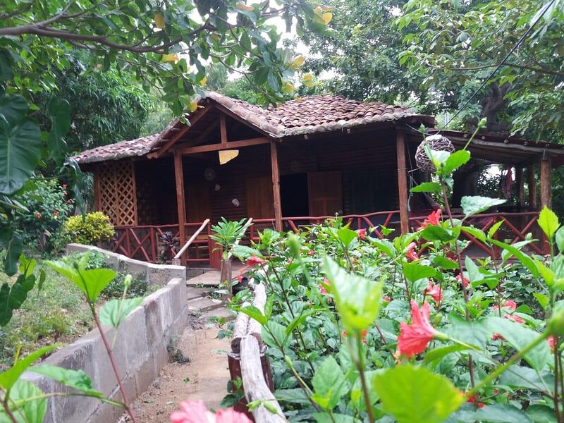 Cabañas Lobolira: Rustic Cabin, 200m to the beach and 350m to the centre of SJDS, Ferienwohnung in San Juan del Sur