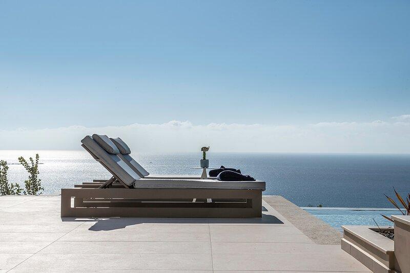 Villa Cielo | Stunning Seaview & free heated pool, holiday rental in Falassarna