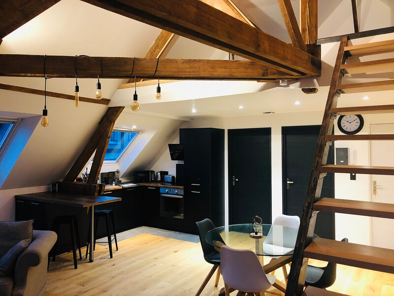 Appartement cosy et atypique en hypercentre, vacation rental in Esclainvillers