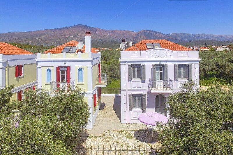 Villa Thalia Thassos Island Limenaria Greece, holiday rental in Astrida