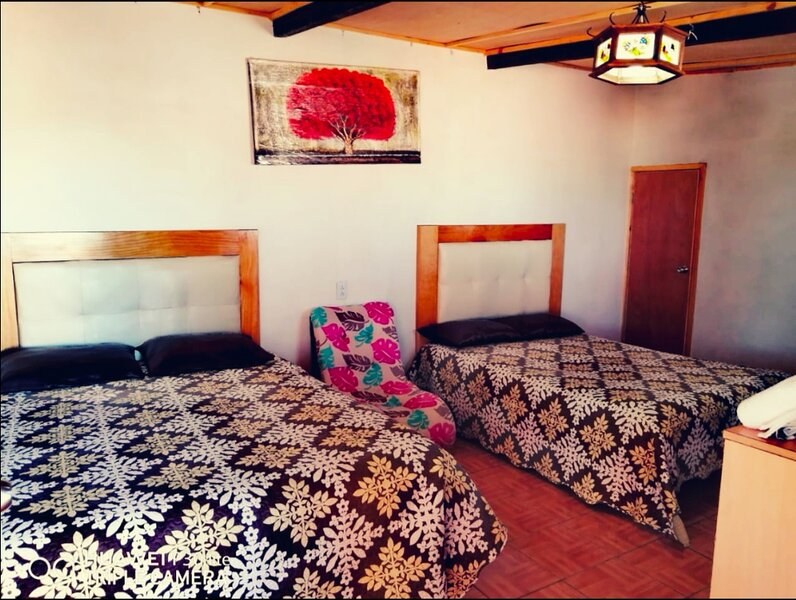 Nice Quadruple Cabin Equipped And Very Central, vacation rental in Zacatlan