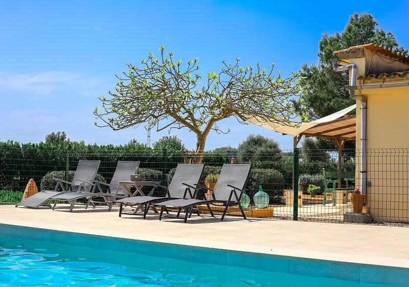 Casa rural Sa Vinya d'Es Trenc, alquiler de vacaciones en Campos