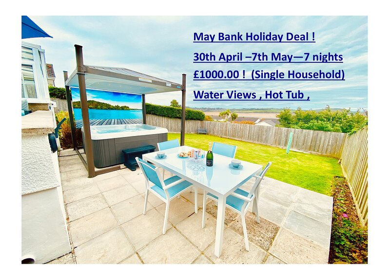 Luxury holiday home Padstow with stunning views !, vacation rental in Padstow