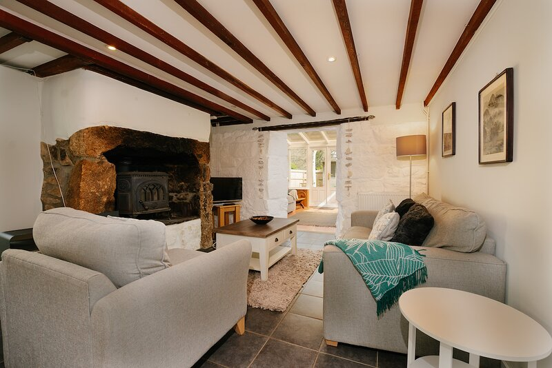 Hope Cottage, Lelant Downs - Sleeps 4-  Garden and Parking, location de vacances à Lelant