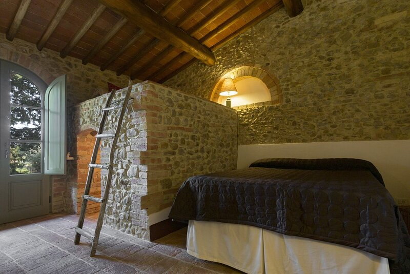 IL FORNO - country home  with garden  in the heart of Chianti - 4 persons, vacation rental in Lucardo