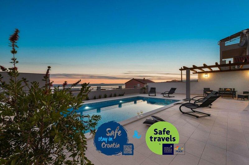 Villa Sea Pearl, casa vacanza a Maslenica