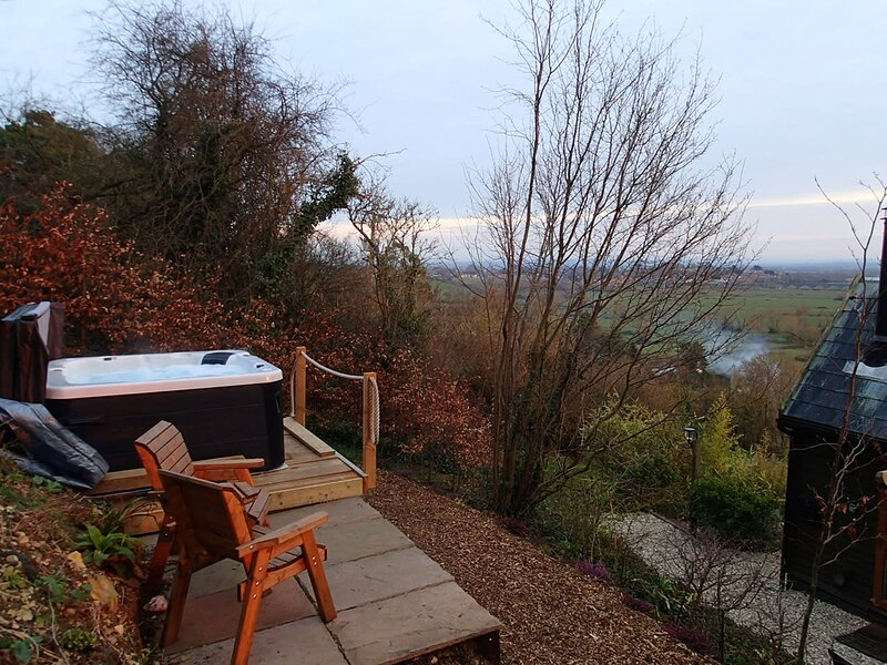 Rose Lodge, Eco Lodge with Hot Tub, holiday rental in Othery