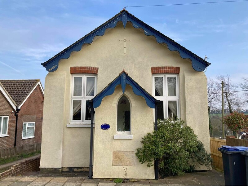 Chapel Cottage - converted Chapel in the heart of the Kent countryside, casa vacanza a Goodnestone