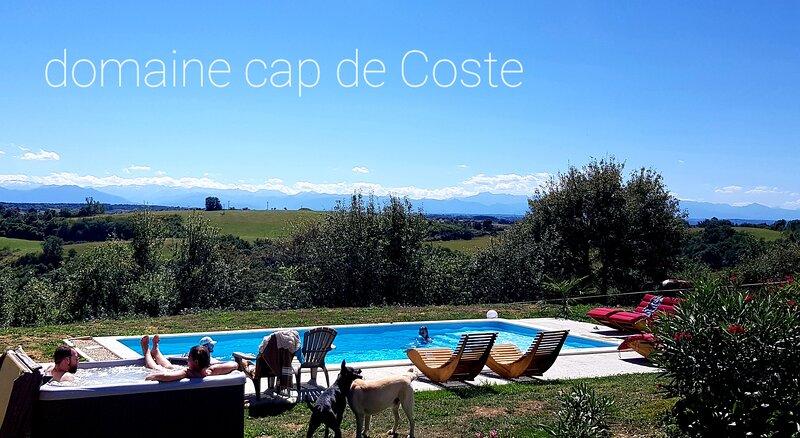 Domaine cap de Coste gîte et chambre d'hôtes, holiday rental in L'Isle-en-Dodon