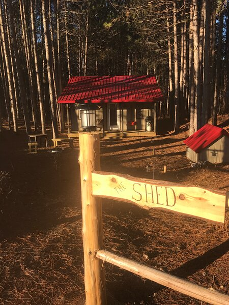 The Shed, holiday rental in Wellston